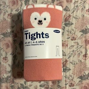 OLD NAVY 2 pack baby tights